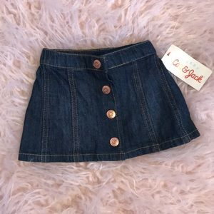 Cat and jack jean skirt ⚡️FIRM ON PRICE⚡️